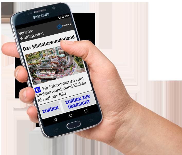 Hamburg leicht Android-App