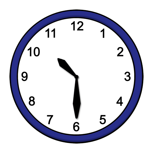 Uhrzeit: 10:30