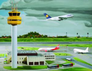 Miniatur Flughafen