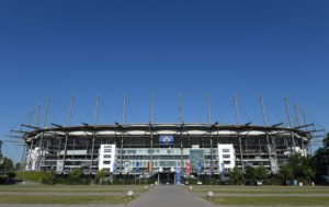 Volksparkstadion Außenansicht